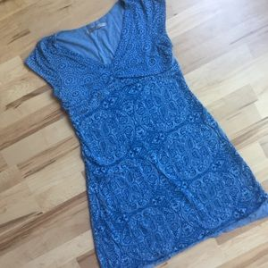 Athleta Dharma Burnout Dress - Batik